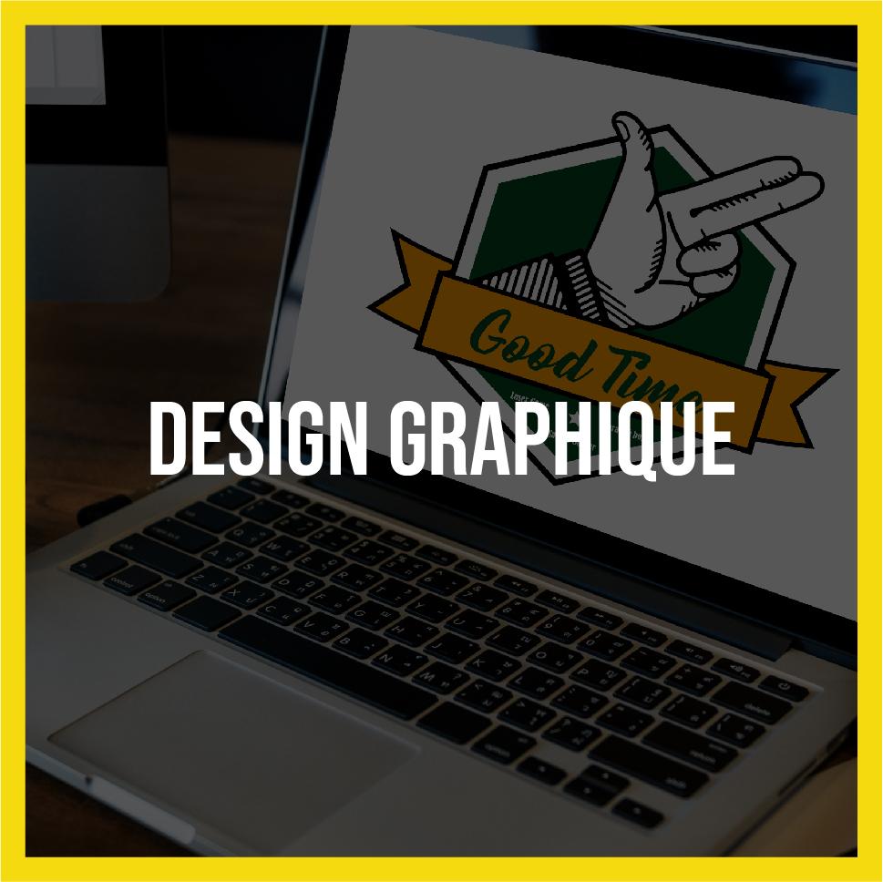 Lightlab.io réalise divers design graphique : logo, dépliants, affiches, etc.