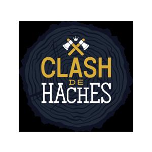 Nouveau logo de Clash de haches réalisé par Lightlab.io