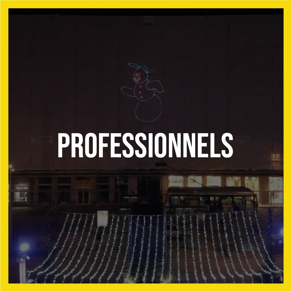 L'agence de communication Lightlab.io à Saint-Étienne propose de Projection Laser pour professionnels