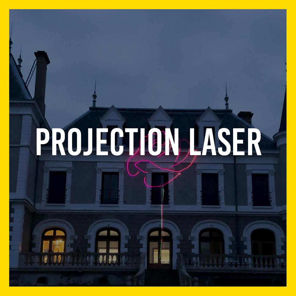 Projection Laser par Lightlab.io